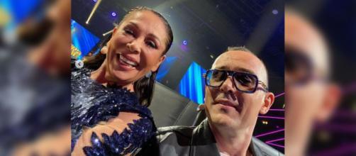 Isabel Pantoja no está de acuerdo con la selfie que publicó Risto Mejide (Instagram Risto Mejide)
