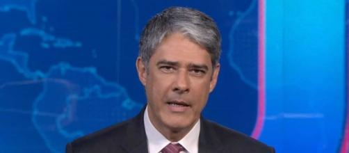 William Bonner fala sobre dificuldade em resposta do governo Bolsonaro (Reprodução/TV Globo)