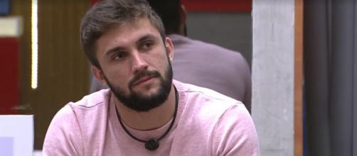 Arthur está no paredão do 'BBB21' (Reprodução/TV Globo)