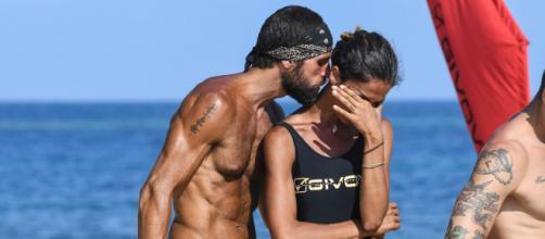 Isola dei Famosi, Francesca Lodo in lacrime per il rifiuto di Gilles di partecipare alla prova del bacio.