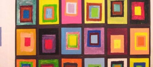 Josef Albers' 'Homage to The Square' (Image source: Jennifer Lake/Flickr)