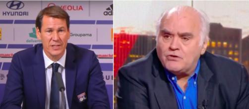 Le coup de gueule de Gilles Favard contre Rudi Garcia - Photo captures d'écran vidéo Youtube