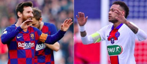 Leo Messi pourrait rejoindre le PSG - Photo captures d'écran Instagram Neymar et Messi