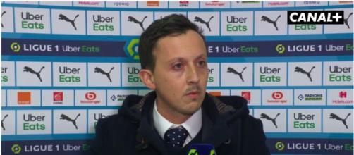 Pablo Longoria pourrait faire des grosses annonces en conférence de presse - Photo capture d'écran vidéo