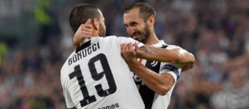 Udinese-Juventus, probabili formazioni: Bonucci-Chiellini al centro della difesa di Pirlo.