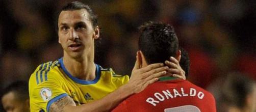 Zlatan Ibrahimovic et Cristiano Ronaldo ont inscrit des buts de la 1ère à la 90ème minute (Credit : Twitter Beesports)