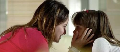 Ana e Júlia em 'A Vida da Gente' (Reprodução/TV Globo)