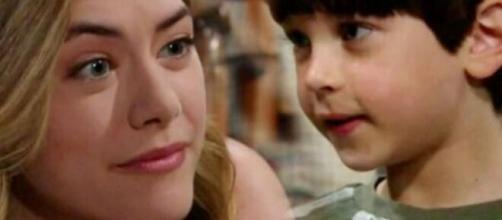 Beautiful, spoiler all'8 maggio: Thomas dice a Douglas che Hope non può essere più sua madre.