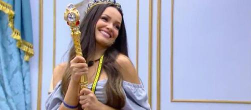 Juliette Freire conquistou a primeira liderança após 100 dias de programa (Reprodução/TV Globo)