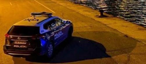 La Policía Nacional intervino a favor de un hombre agredido en plena madrugada (@policia)