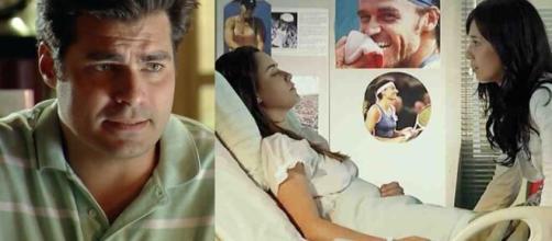 Lúcio, Ana e Manu em 'A Vida da Gente' (Fotomontagem/Reprodução/Rede Globo)