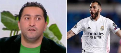 Nabil Djellit aimerait le retour de Benzema avec l'équipe de France. (Montage Blasting).