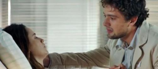 Rodrigo e Ana em 'A Vida da Gente' (Reprodução/Rede Globo)