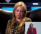 La reacción de Belén Esteban al testimonio de Rocío Carrasco (Capturas de Telecinco)