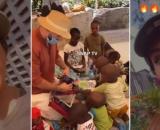 Nabilla Vergara émue aux larmes : elle visite un orphelinat au Kenya et adopte quatre enfants africains avec Thomas.