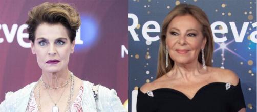 Antonia Dell'Atte amenaza a Ana Obregón por su defensa a Alessandro Lequio. (Fotos RTVE)