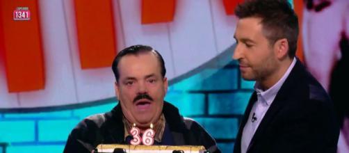 'El risitas' en su última intervención televisiva, en abril de 2019. (Imagen: lasexta.com)