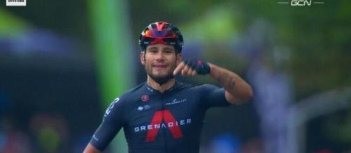Filippo Ganna, uno dei protagonisti più attesi del Giro d'Italia