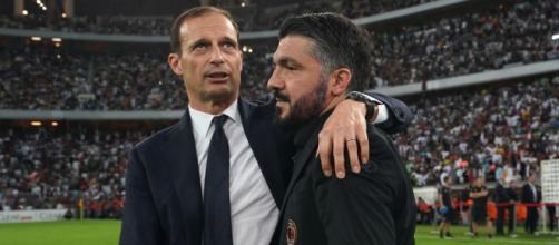 Juve: idea Ringhio Gattuso ma c'è l'ipotesi ritorno di Allegri e il sogno Zidane.