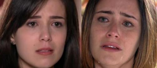 Manu e Ana em 'A Vida da Gente' (Fotomontagem/Reprodução/Rede Globo)