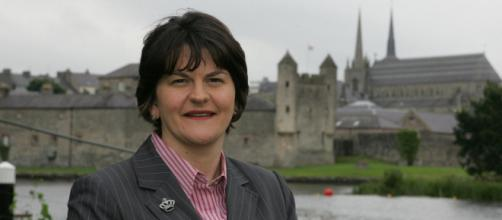 Northern Ireland leader quits after party revolt over Brexit impact (Image source: DUP/Flickr)