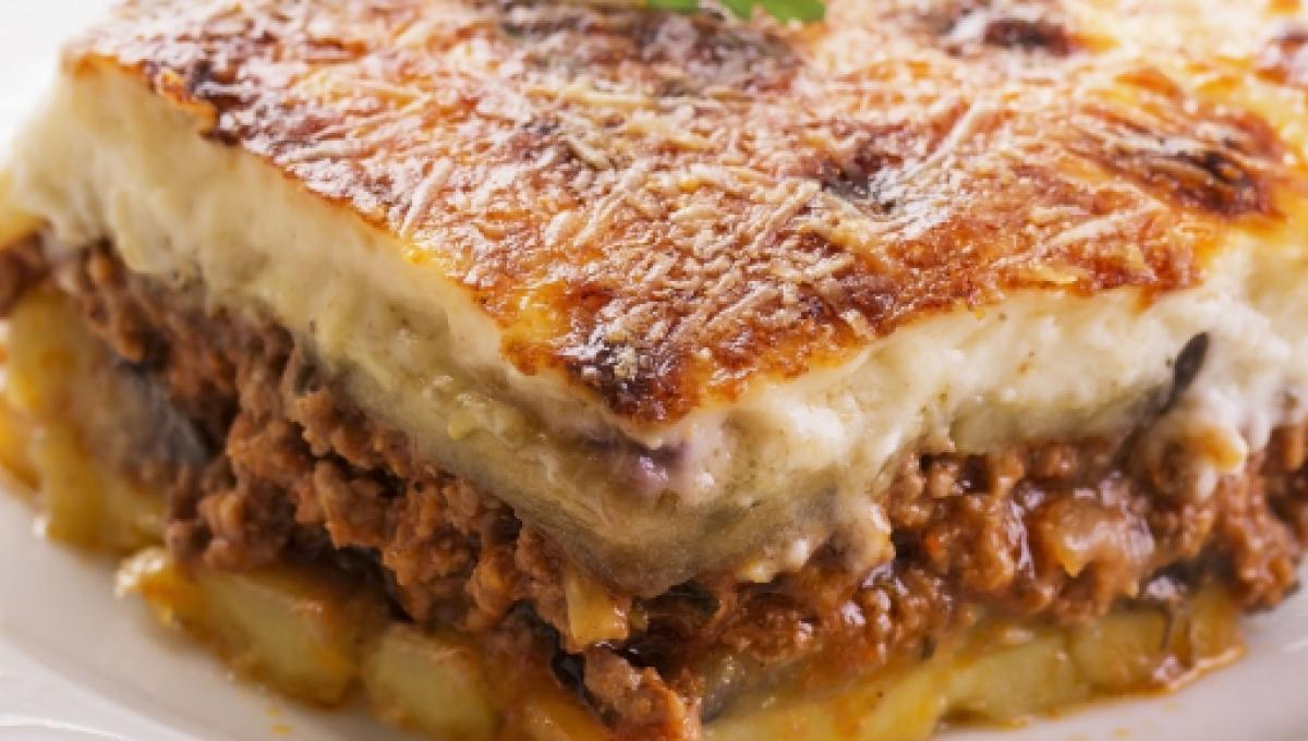 Moussaka: um prato difundido no Oriente Médio e na Europa