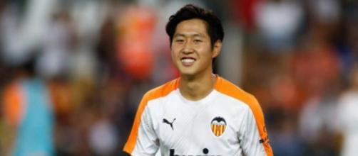 Kang-in Lee, trequartista del Valencia.