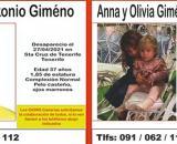 Padre e hijas desaparecidos (Twitter: @BomberosLPA)