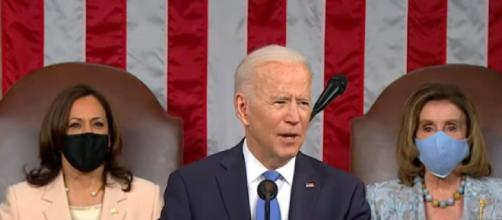 100 days in office: Biden outlines ambitious legislative agenda in first address to Congress. [Image source/CBS This Morning YouTube video]