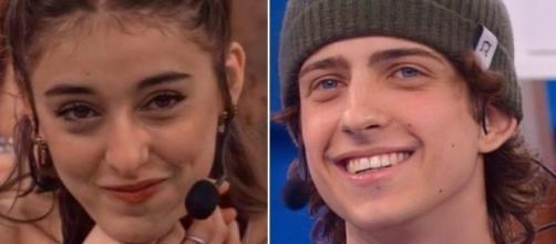 Amici, Giulia e Sangiovanni, bacio in studio e dedica d'amore: 'Siamo la coppia perfetta'.