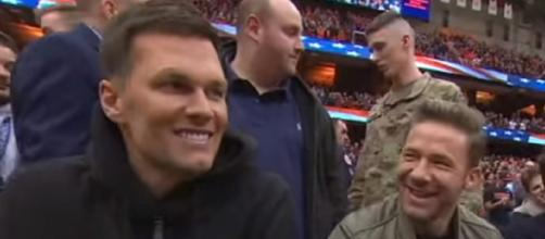 Brady and Edelman are close friends (Image source: ESPN/YouTube)
