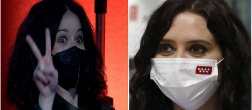 Una mujer sumamente parecida a Isabel Díaz Ayuso se presenta en La Resistencia