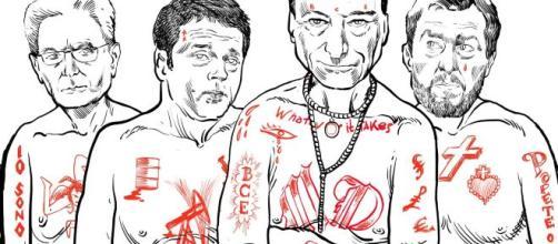 """La copertina di """"Comanda la gang"""" di Davide Toffolo"""