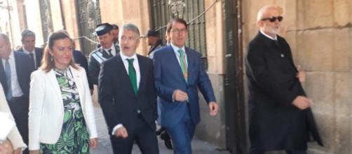 El ministro Marlaska niega la posibilidad de que pueda dimitir a pesar del pedido del PP (Instagram, @dgcyl)
