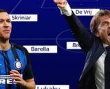 Conte potrebbe riconfermare il 3-5-2 la prossima stagione, ma Perisic è in dubbio