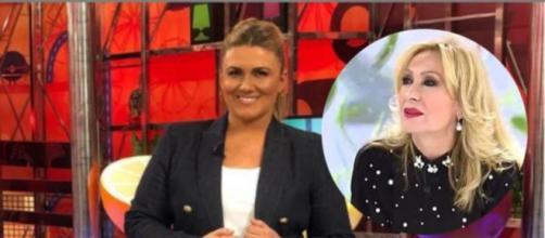 La presentadora Carlota Corredera carga contra Rosa Benito para defender a Rocío Carrasco (Collage Instagram)