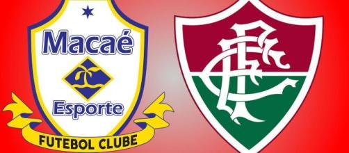 Macaé x Fluminense fechará a oitava rodada (Arte/Eduardo Gouvea)