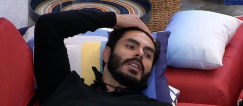 Rodolffo causa polêmica no 'BBB21' (Reprodução/TV Globo)