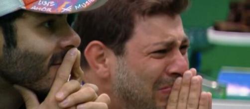 Segundo enquete UOL, Caio deve ser o eliminado do 'BBB21' (Reprodução/TV Globo)