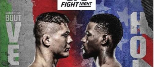 UFC: Vettori vs Holland, sabato 10 aprile in diretta su DAZN.