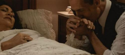 Una vita, trame Spagna: José Miguel crede che sua moglie Bellita sia morta.