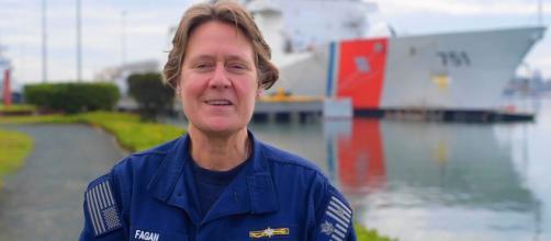 Biden has chosen Linda Fagan to be the Coast Guard's next vice commandant (Image source: Defense Flash News/YouTube)