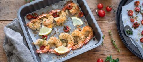 Gamberi gratinati al forno, un secondo piatto di pesce molto gustoso.