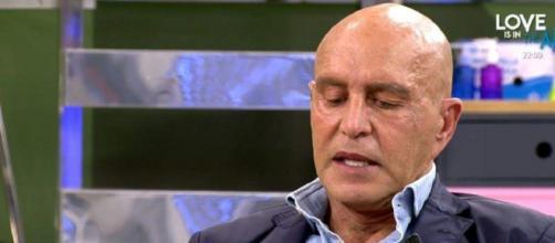 Kiko Matamoros, este martes en 'Sálvame' (Captura de Telecinco)