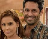 Zezinho e Alexia/Josimara em 'Salve-Se Quem Puder' (Reprodução/Rede Globo)