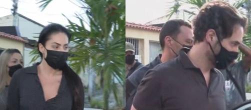 Casal é suspeito de ter matado criança de forma violenta (Reprodução/Rede Globo)