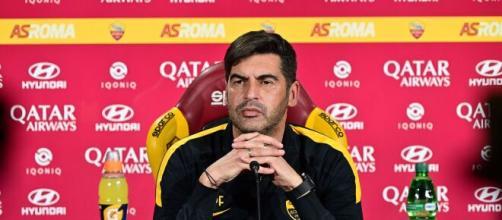 Fonseca, allenatore della Roma.