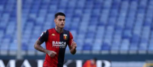 Gianluca Scamacca, punta in prestito al Genoa.