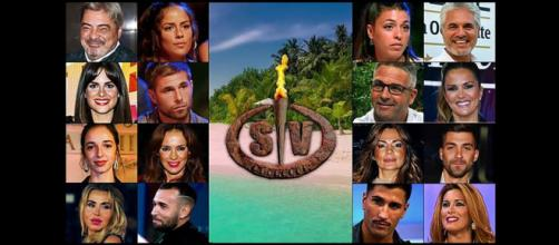 Los dieciséis concursantes de la edición 2021 de Supervivientes. (Imágenes de Telecinco)