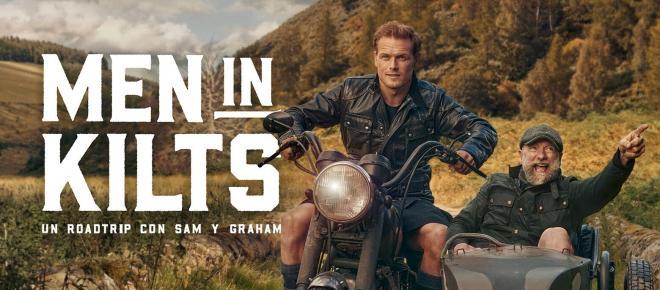 'Men in kilts', la serie que invita a viajar por Escocia llega a Movistar +